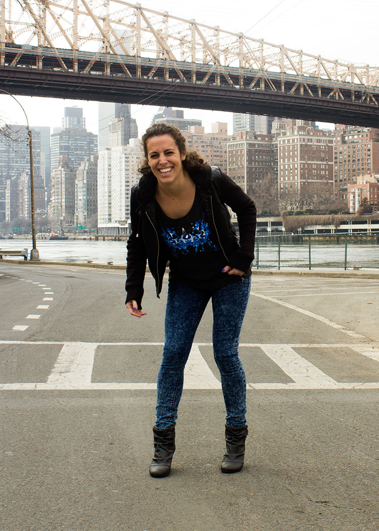 New yorker michelle p. In the blue ink tank! 6