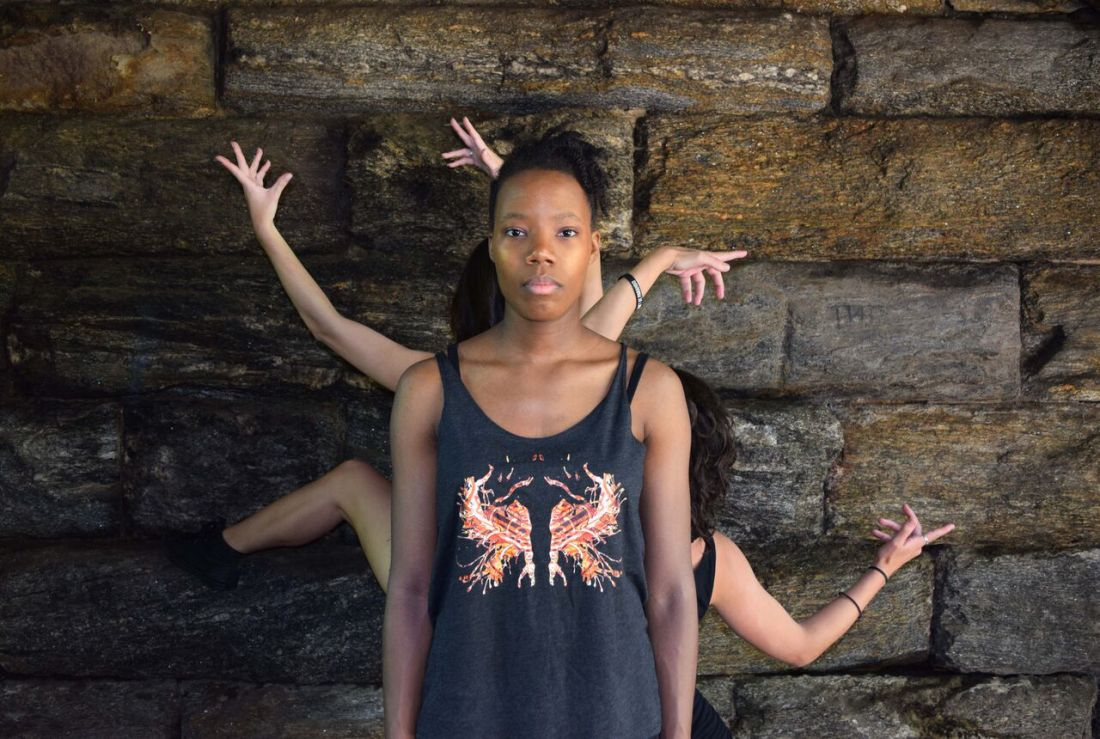 NYC's Borne Dance Company models Rorschach Designs by Schizophrenic.NYC 9