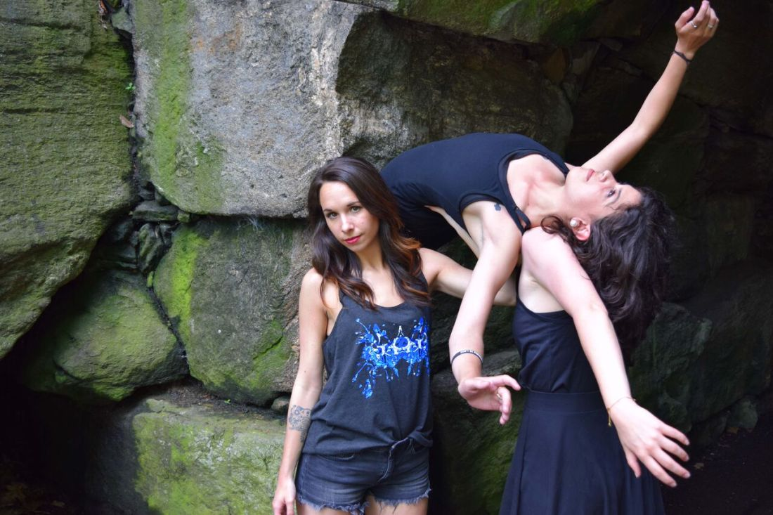 NYC's Borne Dance Company models Rorschach Designs by Schizophrenic.NYC 4