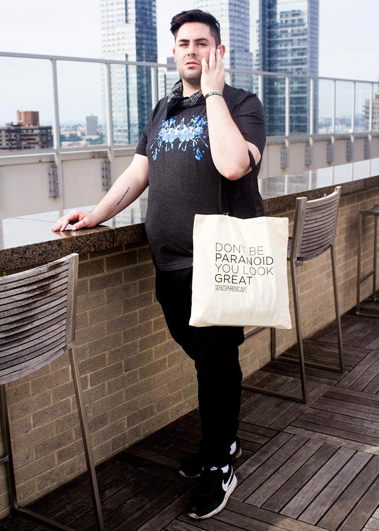 New york model, chris burns photo shoot!