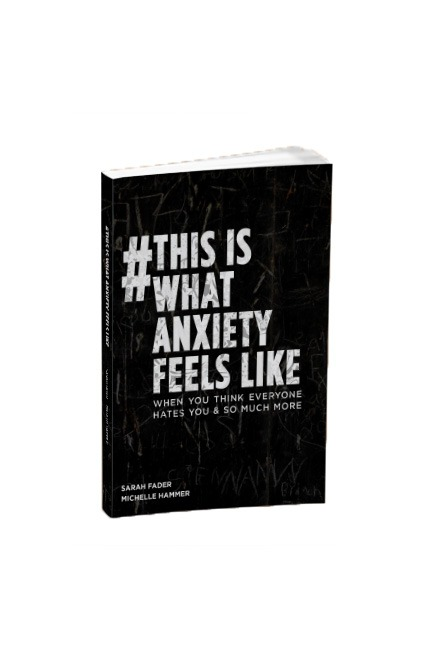 This is what anxiety feels like - the book signed 25