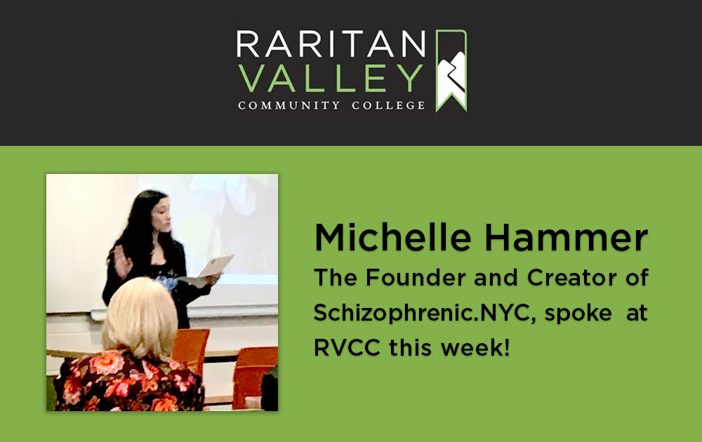 Michelle spoke at raritan valley community college 83