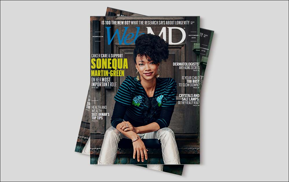 Michelle in WebMD Magazine! 1