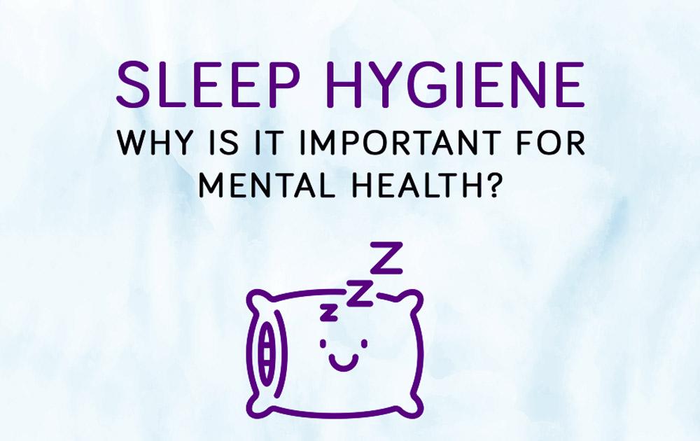 Sleep hygiene infographic