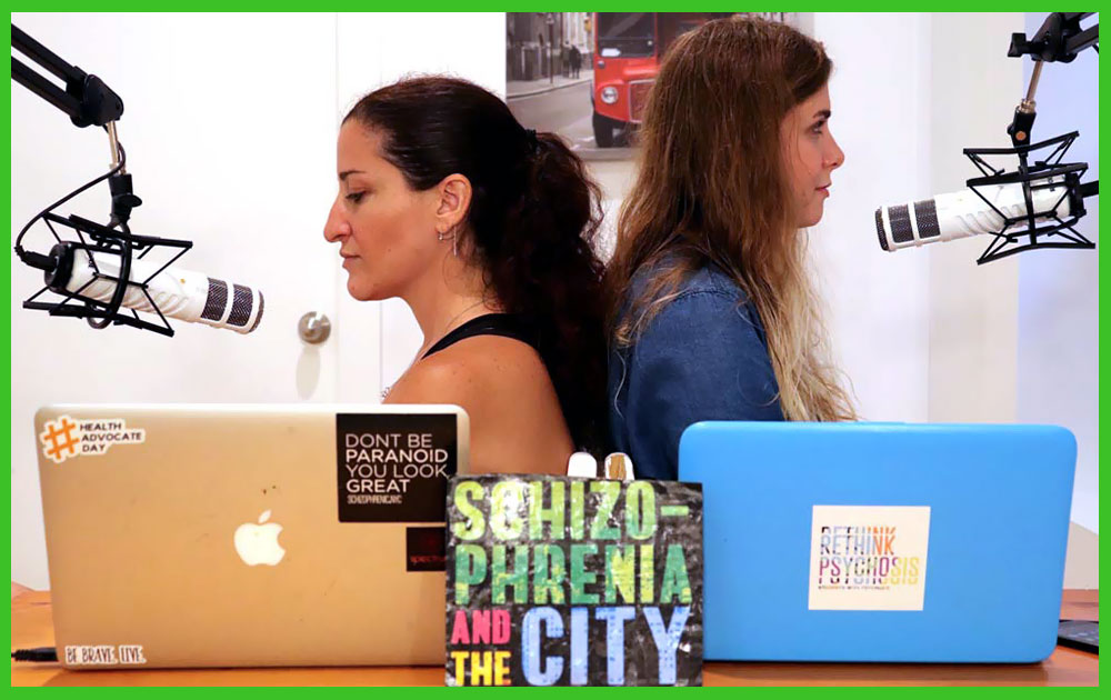 Schizophrenia and the city - the podcast