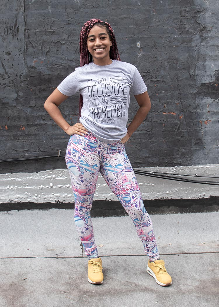 Mental health leggings
