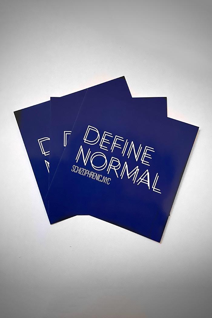 Define normal stickers
