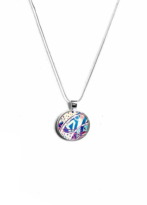 Mental health artwork necklace
