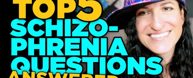 Top 5 questions i get about schizophrenia