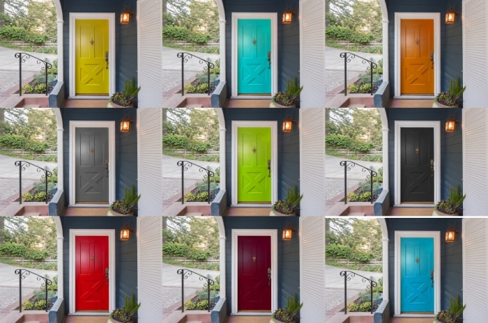 How To Paint A Door For A Simple Style Refresh