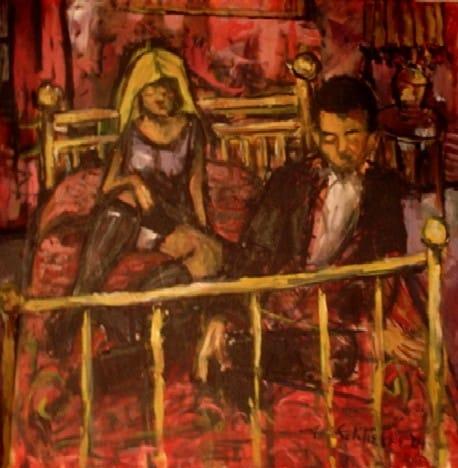 The Arrangement - oil on canvas Michael Schliefke