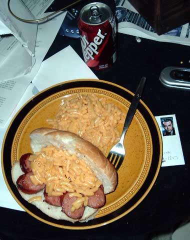 kielbasa sandwich