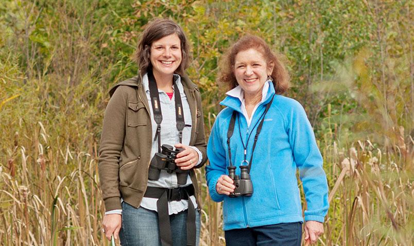 Adult education at Schlitz Audubon
