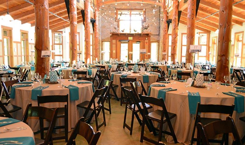 Schlitz Audubon Venue Rental Great Hall