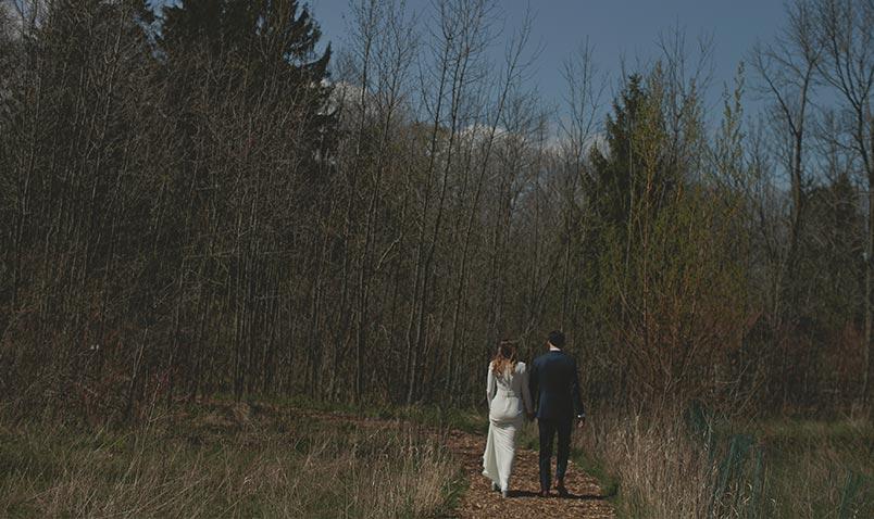 Spring Wedding Schlitz Audubon Trail