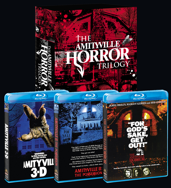 Schlock Wire Scream Factory Revives The Amityville Horror Trilogy On Blu Ray In October Schlockmania