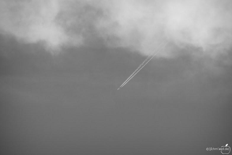 raus aus den Wolken