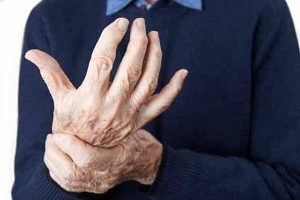 Entzündung Hand und Finger