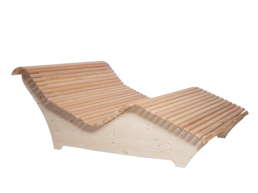 Wellnessliegen aus Holz: Geniessen, entspannen, relaxen