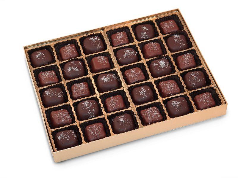 30 salted caramel box