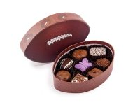 football chocolate box