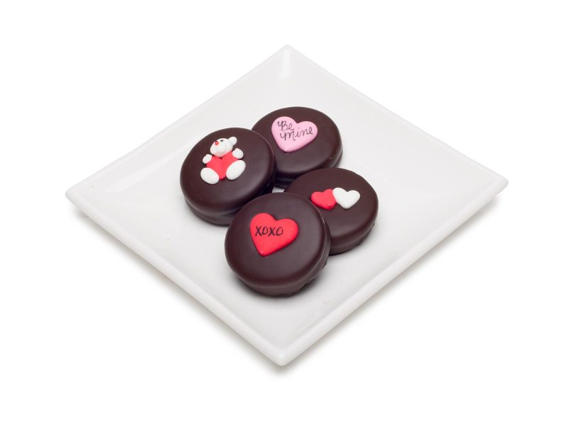 Chocolate Double Stuff Oreo Valentine's Day