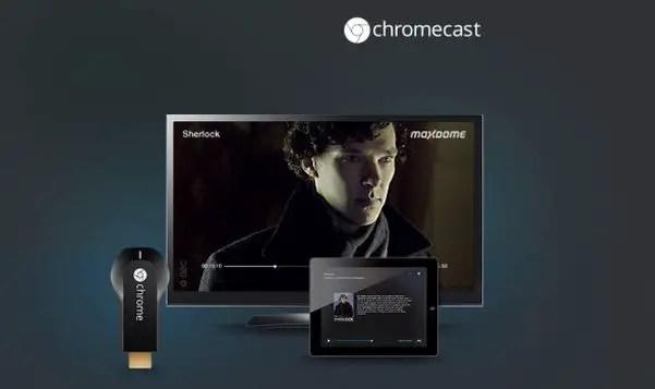 Maxdome, Chromecast
