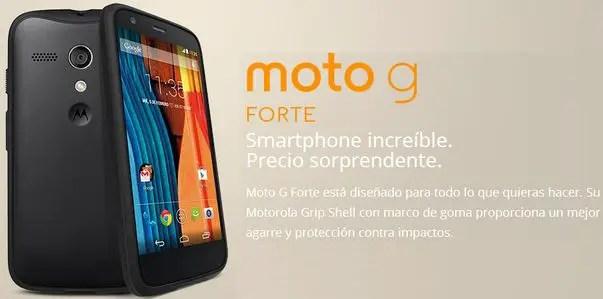 Motorola, Moto G Forte, Motorola Moto G Forte