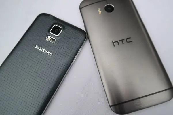 Samsung, Samsung Galaxy S5, Galaxy S5, Samsung S5, HTC, HTC One (M8)