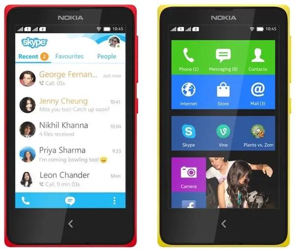 Nokia, Nokia X