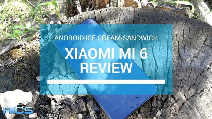 Xiaomi Mi 6 Android Smartphone