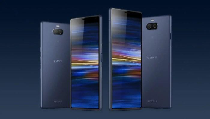 Sony Xperia 10 und Xperia 10 Plus Pressebild