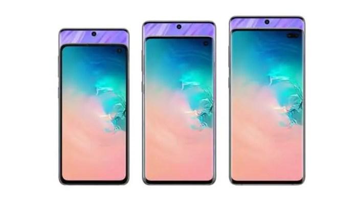 Samsung Galaxy S11 Konzept vs. Samsung Galaxy S10-Reihe