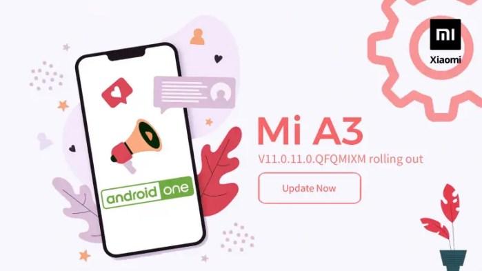 Xiaomi Mi A3 V11.0.11.0 QFQMIXM