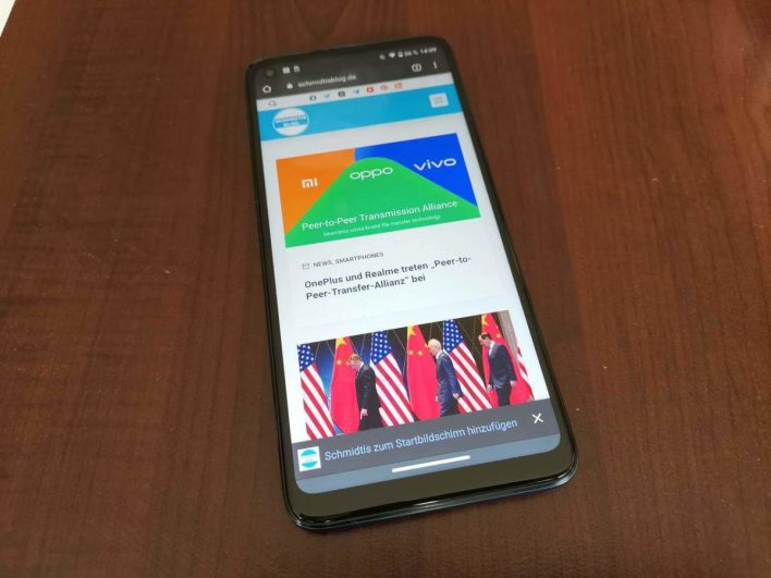 Motorola Moto G8 Vorderseite