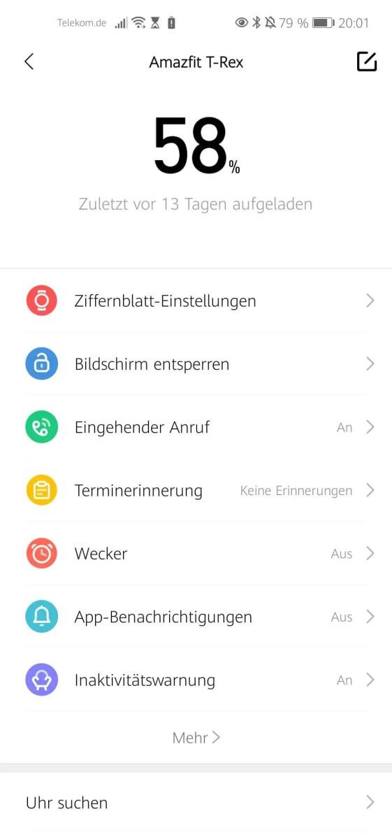 Huami Zepp App