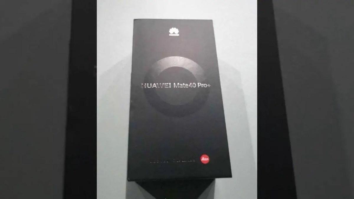 Huawei Mate 40 Pro+ Retail-Box Leak