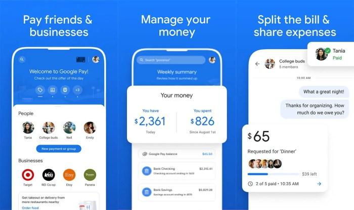 New Google Pay-App