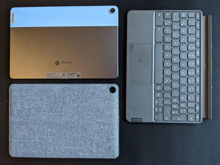 Lenovo IdeaPad Duet Chromebook Lieferumfang