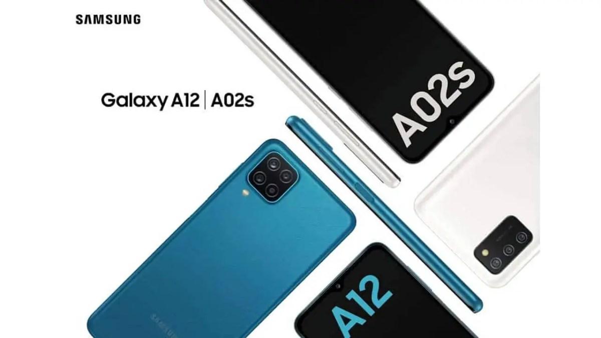Samsung Galaxy A12 und Samsung Galaxy A02s