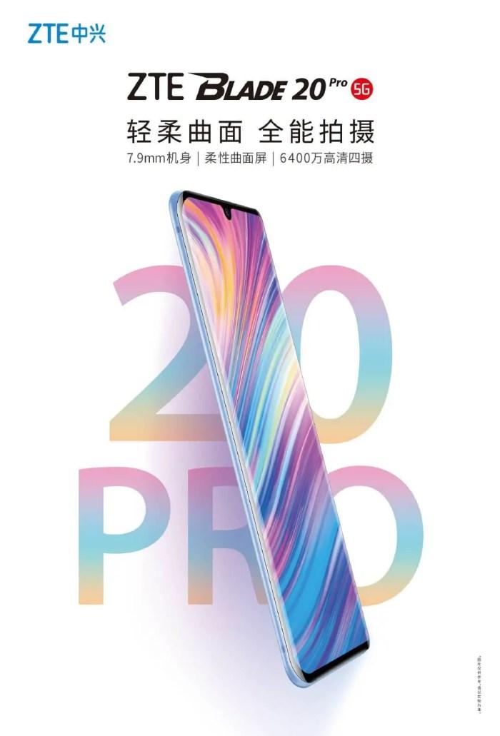 ZTE Blade 20 Pro 5G launch-date