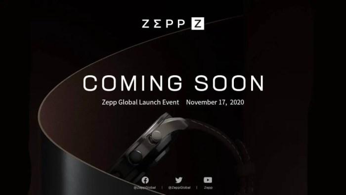 Zepp Z Smartwatch Teaser