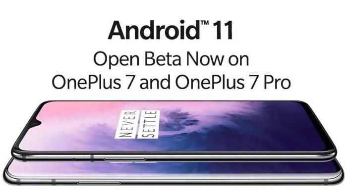 OnePlus 7-Reihe OxygenOS 11 Beta