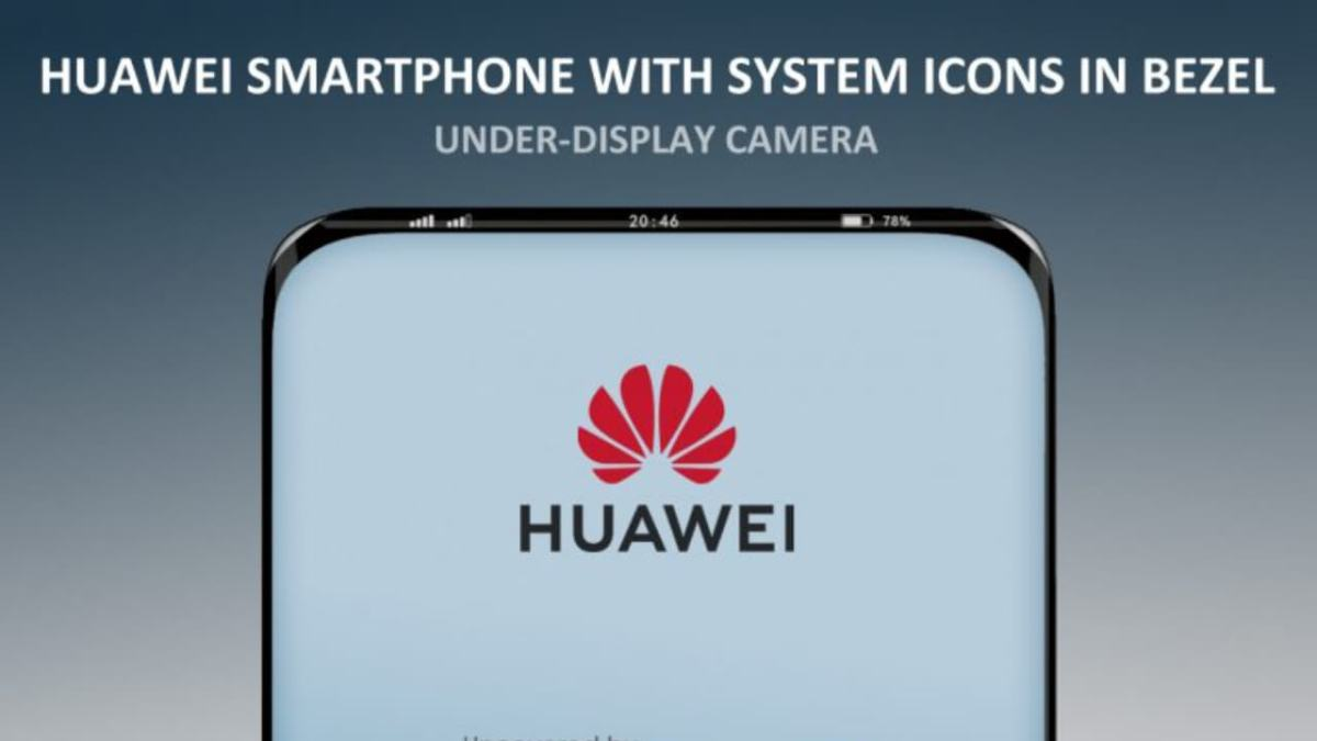 Huawei Smartphone Camera-Display-Bezel