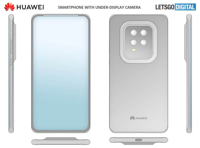 Huawei Smartphone Mini-Display-Bezel