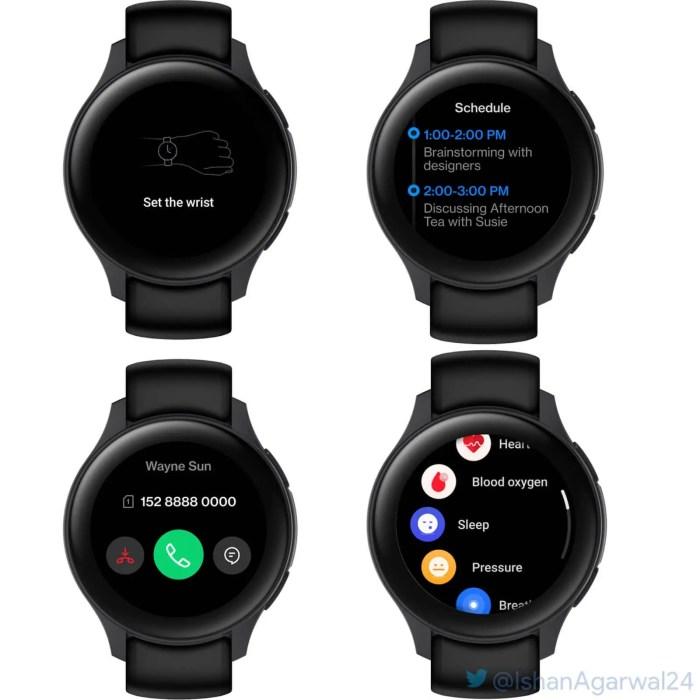 OnePlus Watch Leak