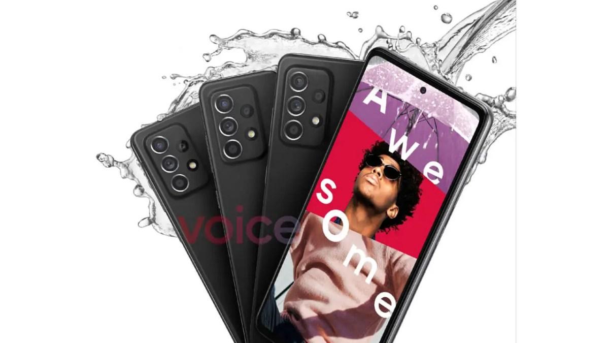 Samsung Galaxy A52 5G-Teaser
