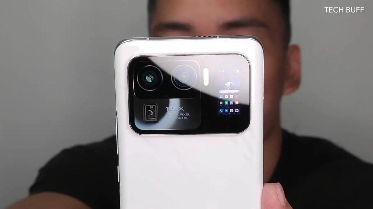 Xiaomi Mi 11 Ultra Rückseite Leak