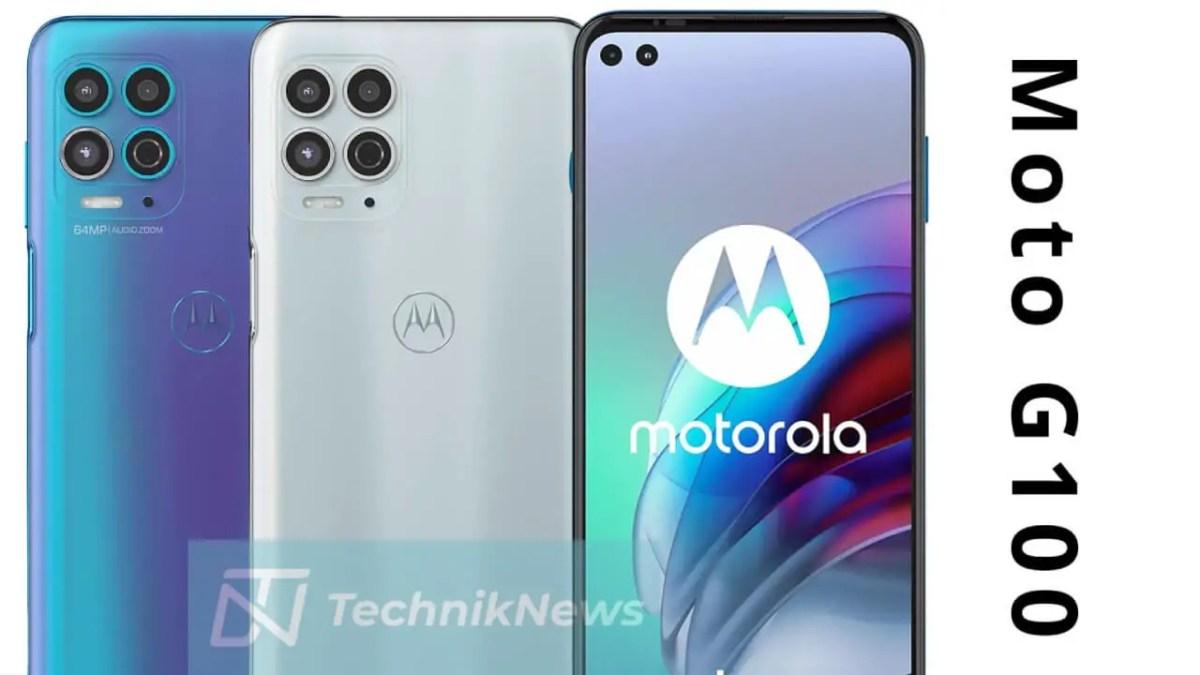 Motorola Moto G100 Header