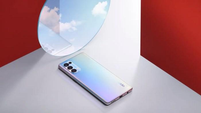 Oppo Find X3 Lite Silver Mirror